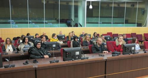 Posjeta sudu BiH u Sarajevu