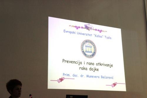 """""""Prevencija i rano otkrivanje raka dojke"""" - Stručno predavanje"""